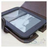 Обложка (чехол) Saxon Case для Nook Simple Touch Nut