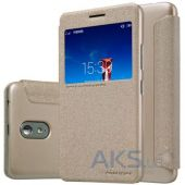 Чехол Nillkin Sparkle Leather Series Lenovo Vibe P1m Gold