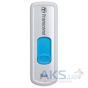 Флешка Transcend JetFlash 530 8Gb White/blue
