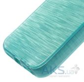 Вид 4 - Чехол Original TPU Pearl Lines Apple iPhone 5, iPhone 5S, iPhone 5SE Turquoise