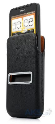 Вид 1 - Чехол Capdase Pocket Luxe  HTC One V T320E Black (DPHCT320E-H217)