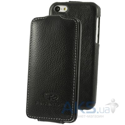 Чехол Perfektum Leather Flip series iPhone 5C Black