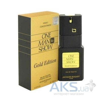 Jacques Bogart One Man Show Gold Edition Туалетная вода 100 ml