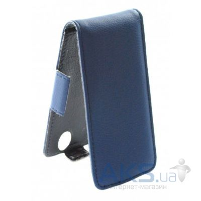 Чехол Sirius flip case for Fly IQ4402 ERA Style 1 Dark Blue