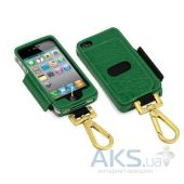 Чехол Tunewear Prie Ambassador Green Crocodile for iPhone 4