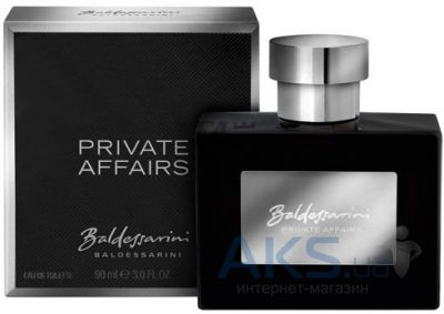 Hugo Boss Baldessarini Private Affairs Туалетная вода 50 ml