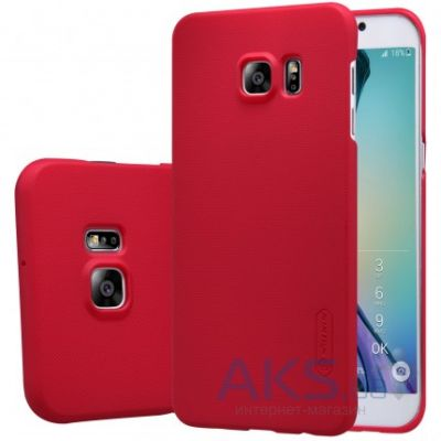 Чехол Nillkin Super Frosted Shield Samsung G928 Galaxy S6 Edge Plus Red