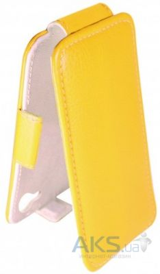 Чехол Sirius flip case Alcatel One Touch 4015d POP C1 Yellow
