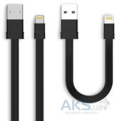 Кабель USB Remax Tengy Series 160mm +1000mm Lightning Data Cable Black (RC-062i)