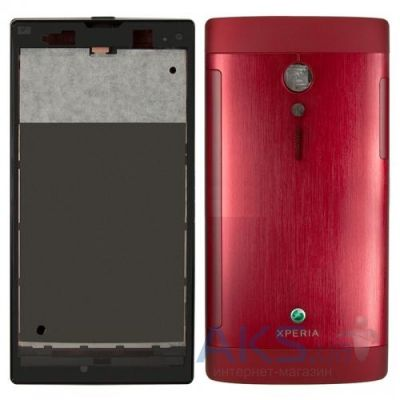 Корпус Sony LT28h Xperia Ion Red