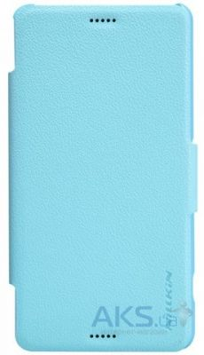Чехол Nillkin Fresh Leather Series Sony Xperia Z3 Compact D5803 Blue