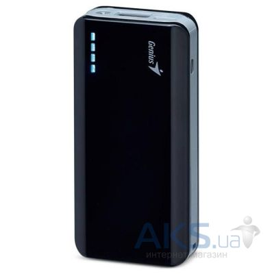 Повербанк power bank Genius ECO-u622 6000 mAh Black