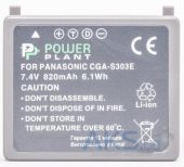 Вид 2 - Аккумулятор Panasonic VW-VBE10, CGA-S303 820mAh (DV00DV1341) PowerPlant