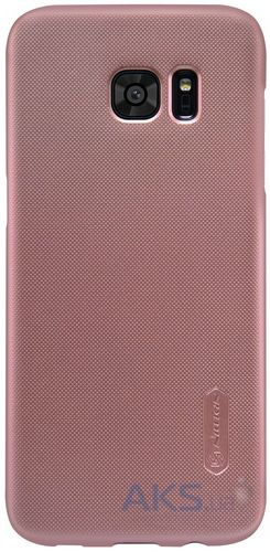 Чехол Nillkin Super Frosted Shield Samsung G930 Galaxy S7 Rose Gold