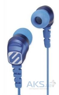Наушники (гарнитура) Scosche Noise Isolation Sport Earbuds thudBUDS HP200BL Blue
