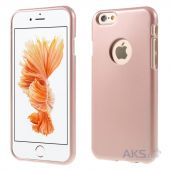 Чехол Mercury Jelly Metal Series Apple iPhone 6, iPhone 6S Rose Gold