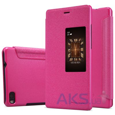Чехол Nillkin Sparkle Leather Series Huawei Ascend P8 Pink