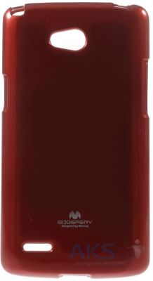 Чехол Mercury Jelly Color Series LG D380 L80 Dual Red