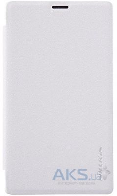 Чехол Nillkin Sparkle Leather Series Microsoft Lumia 532 White