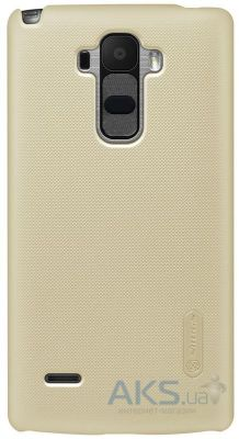 Чехол Nillkin Super Frosted Shield LG Optimus G4 Stylus H630, H540 Dual Gold