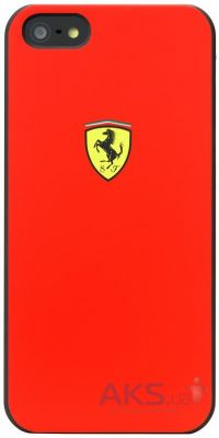Чехол CG Mobile Ferrari Hard Back Scuderia Collection Apple iPhone 5, iPhone 5S, iPhone SE Red (FESCHCP5RE)