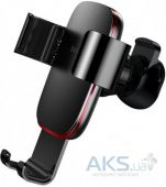 Автодержатель  Baseus Metal Age Gravity Car Mount Black (SUYL-D01)