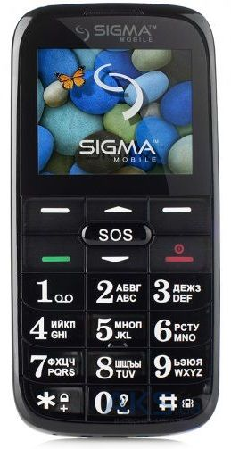 Мобильный телефон Sigma mobile Comfort 50 Slim Black-Red
