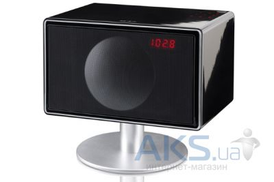 Колонки акустические Geneva Sound System model S (with bluetooth + clock radio) Black