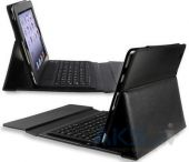 Вид 2 - Чехол для планшета Leather case with Bluetooth Keyboard for Apple iPad Black