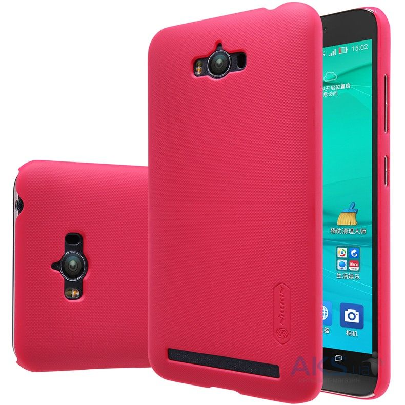 Чехол Nillkin Super Frosted Shield Asus Zenfone Max ZC550KL Red