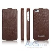 Чехол iCarer Fake Crocodile Apple iPhone 5, iPhone 5S, iPhone 5SE Brown