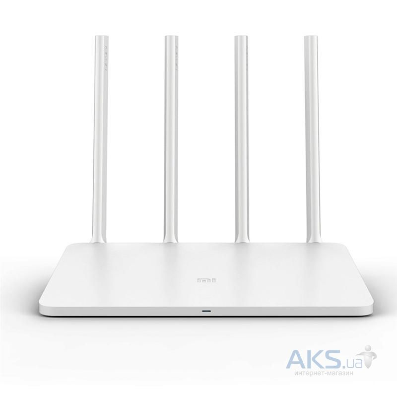 Роутер Xiaomi Mi Router 3 White (DVB4150CN)