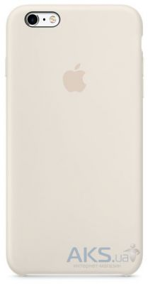 Чехол Apple Silicone Case for iPhone 6S Antique White (MLCX2)