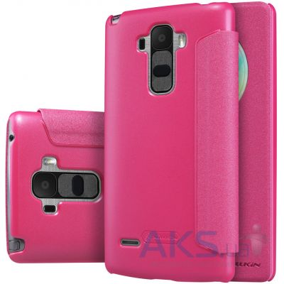 Чехол Nillkin Sparkle Leather Series LG Optimus G4 Stylus H630, H540 Pink