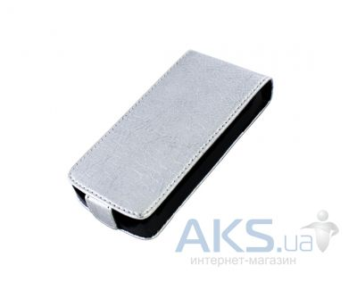 Чехол Atlanta Book case for Nokia 500 Silver