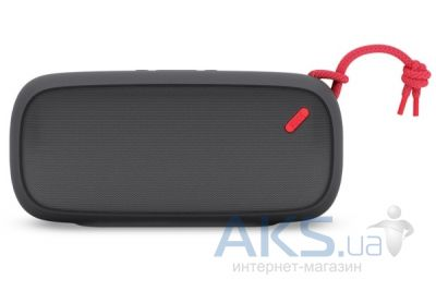 Колонки акустические Nude Audio Portable Bluetooth Speaker Move L Charcoal/Coral (PS004CLG)