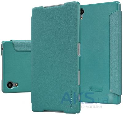 Чехол Nillkin Sparkle Leather Series Sony Xperia Z5 E6683 Turquoise