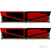 Оперативная память Team DDR4 16GB (2x8GB) 2400 MHz T-Force Vulcan Red (TLRED416G2400HC14DC01)
