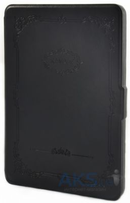 Обложка (чехол) Crown Retro Pattern Leather Case for Kindle 6 Black