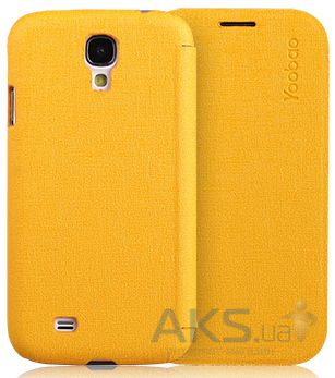 Чехол Yoobao Slim leather case for Samsung i9500 Galaxy S IV Yellow (LCSAMS4-SYL)