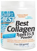 Doctor's BEST Best Collagen Types 1 and 3 Powder 200g Натуральный