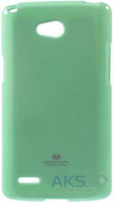 Чехол Mercury TPU Jelly Color Series LG D380 L80 Dual Turquoise