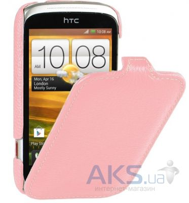 Чехол Melkco Leather Case Jacka Pink for HTC Desire C A320e Pink (O2DERCLCJT1PKLC)