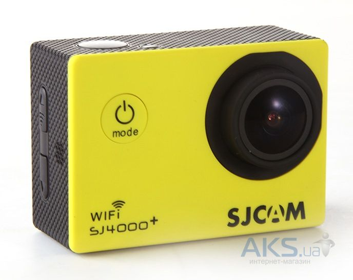 Экшн-камера SJCAM SJ4000+ Plus Wi-Fi Yellow