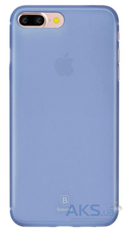 Чехол Baseus Slim 0.5 mm Apple iPhone 7 Plus, iPhone 8 Plus Blue