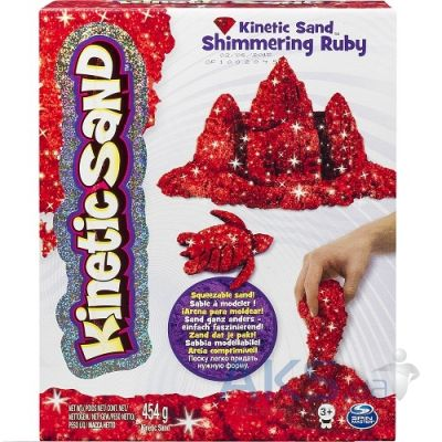 Игра Wacky-tivities Кинетический песок Kinetic Sand Metallic  (71408Rub) Red