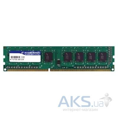 Оперативная память Silicon Power DDR3 4GB 1333 MHz (SP004GBLTU133N02)