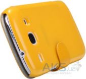 Вид 4 - Чехол Nillkin Fresh Leather Series Samsung I8262 Galaxy Core Yellow