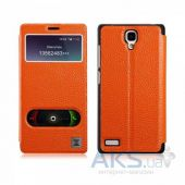 Чехол Xoomz Litchi Pattern Leather для Xiaomi Mi Note Orange