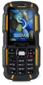 Мобильный телефон Sigma mobile X-treme DZ67 Travel YELLOW BLACK
